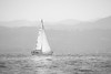 Sailor (Rico the noob) Tags: dof 300mm landscape nature d500 germany outdoor boats tc14eiii 2017 published monochrome sky mist 300mmf4pf blackandwhite bw boat lake water bodensee
