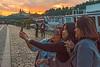 Party Girls (fotofrysk) Tags: birthdayparty women 50th selfie cellcamera sunset alsovoquay tourboats touristcouple cobbestones cathedral castle sky staremesto oldtown easterneuropetrip prague praha czechrepublic sigma1750mmf28exdcoxhsm nikond7100 201709226626