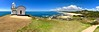 View Down Lighthouse Beach from Tacking Point Lighthouse, Port Macquarie, NSW (Black Diamond Images) Tags: view lighthousebeach lighthousebeachportmacquarie northbrothermountain portmacquarie nsw australianbeaches midnorthcoast beach panorama appleiphone7plus iphone7plus appleiphone7pluspanorama iphone7pluspanorama iphonepanorama water sky clouds tackingpointlighthouse lighthouse australia