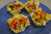 Roasted Veggies in Phyllo Cups (Vegan Butterfly) Tags: vegetarian vegan food yummy tasty delicious phyllo cups roasted veggies vegetables onions sweet potato peppers zucchini