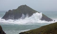 Stormy Cornish Seas (Mukumbura) Tags: stormbrian moulsisland pentirepoint cornwall sea ocean stormy weather kernow coast wild breakers northcornwall sevensoulscove wind gales