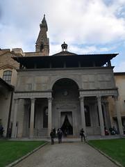 cappella dei pazzi (chiara7171) Tags: basilicadisantacrocefirenzetoscanaflorencecimabuegiottovisittuscanycappellapazzi cappelladeipazzi brunelleschi