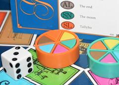 Macro Mondays - Games or Game Pieces (zendt66) Tags: memberschoicegamesorgamepieces zendt66 zendt nikon d7200 60mm nikkor macromondays games game pieces dice wedge triangle gameboard trivial pursuit trivialpursuit