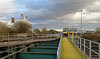 Keadby Canal Junction bridge (robmcrorie) Tags: class 185 trans pennine express keadby canal junction crossing lincolnshire stain forth boat traverser bridge nikon d7500