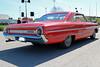 1964 Ford Galaxie 500 (crusaderstgeorge) Tags: crusaderstgeorge cars classiccars chrome 1964fordgalaxie500 1964 ford galaxie 500 americancars americanclassiccars americancarsinsweden arenawheels sweden sverige sandviken gävleborg redcars red göranssonsarena