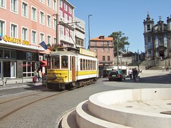 Trams de Porto (Portugal) (Trams aux fils (Alain GAVILLET)) Tags: portotram203touristique tramsdeporto tramsportugais stcp tramstouristiquedeporto tramsvoiesnormales