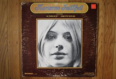 Marianne Faithfull LP ( London 1965 ) (Donald Deveau) Tags: mariannefaithfull lp record album vinyl rollingstones astearsgoby