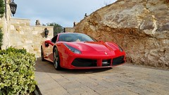 Ferrari 488 Coupe (AG512BBI) Tags: 488 ferrari malibu coupe red italy italian maranello modena fiorano v8 cylinder turbo twin sportscar lamborghini mclaren