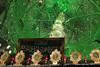 Mirrored dome interior - Mausoleum Sultan Amir Ahmad - Kashan Iran (WanderingPhotosPJB) Tags: islamicrepublic islam iran mausoleum sultanamirahmad imam mullah dome cupola mirror tile greenlight
