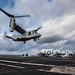 MV-22 squadron lands aboard USS Ronald Reagan during routine deployment