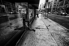 Hard life in New York (rvjak) Tags: ny usa newyork d750 nikon etatsunis street rue tramp sdf lonely seul solitude