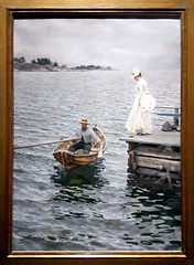 Anders Zorn exhibition in Paris Petit Palais (Sokleine) Tags: zorn anderszorn exhibition exposition petitpalais museum musée painting tableau peinture water heritage swedish paris 75008 france clapotis couple leisure entertainment plaisir barque bateau boat canot rowing canotier