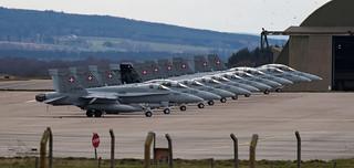 Swiss Air Force F/A 18 Hornet