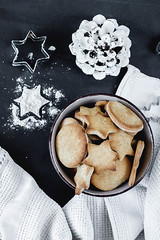 Lebkuchen verschiedener Formen, von oben fotografiert (marcoverch) Tags: ginger dessert winter different brown bread holiday biscuit delicious homemade powder decoration shape baked sugar shortbread gingerbread shapes xmas christmas english white variety treat traditional assorted cookie sweet cinnamon star cookies snack background foods food butter tamron truck portugal boats maitreya airport blur harbour catwa lebkuchen verschiedeneformen vonoben fotografiert