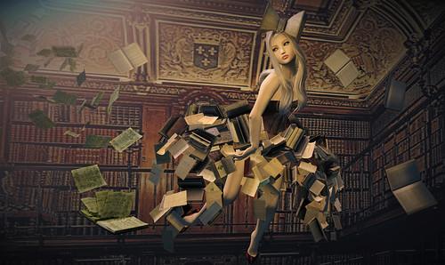 Library Fairy - Boudoir