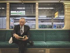 Aomori 青森. Japan (H.L.Tam) Tags: people aomori japan 東北 iphone iphoneography japanese 日本 life sketchbook train street documentary streetphotography 青森 日本人 iphone8plus photodocumentary