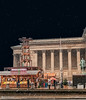 Christmas Market St George's Hall Liverpool (Bob Edwards Photography - Picture Liverpool) Tags: stgeorgeshall liverpool merseyside christmas market stalls snow evening night