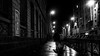 Rodenstock Retina-Eurygon 35mm f/4 - DSCF0131 (::Lens a Lot::) Tags: rodenstock retinaeurygon 35mm f4 1964   5 blades iris dkl mount paris 2017 noir et blanc monochrome streetphotography city life bw wide angle vintage west germany lens prime fixed length street photography darkness personnes retina eurygon night reflexion light rain