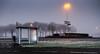 bus stop colors (tvdijk19) Tags: busstop fuji color early light travel flevoland netherlands urbanarte