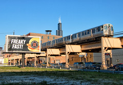 Freaky Fast (Wheelnrail) Tags: chicago cta el subway city downtown rail road train trains jimmy johns racine sears tower lake illinois
