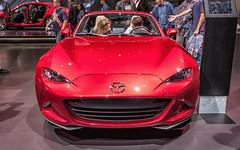 2018 Mazda MX-5 Miata (ccmonty) Tags: 2017laautoshow conventioncenter dtla laautoshow laas losangeles losangelesconventioncenter mazda mazdamx5miata autoshow automobile car cars downtownlosangeles vehicle california unitedstates