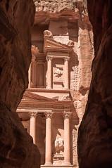 Treasury (kud4ipad) Tags: 2016 jordan petra treasury alkhazneh siq architecture nabatean kingdom lost city indiana jones temple