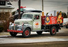 Displayed (HTT) (13skies) Tags: thursday singleshothdr htt truckthursday pickuptruck old classic happytruckthursday night dealership dodgefargo red merrychristmas drive truck