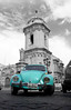 kaefer (karstenzschache) Tags: oldtimer auto käfer türkis vw peru kirche church sw bw schwarz weiss black white