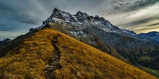 Les dents du Midi en mode automne (Switzerland)