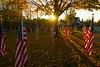 Happy Veterans Day! (Matt Champlin) Tags: veterans veteran happyveteransday usa america patriotism flag sunset beautiful park skaneateles flx fingerlakes canon 2017 americanflag remembrance fall autumn usmc wwii military edsonsraiders