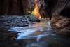 Spirit of the Narrows (Björn Burton Photography) Tags: narrows zion utah canyon glow autumn fall southwest bjornburtonphotography landscape water virginriver