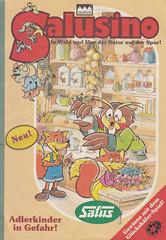 Salusino (micky the pixel) Tags: comics comic heft magazin giveaway giveaways werbecomic werbegeschenk salus naturarzneimittel salushaus reformhaus neuform salusino fuchs eule fox owl apotheke