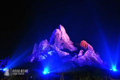 Expedtion Everest at Night (rook.behr) Tags: wonder night outdoors animalkingdom disneyworld expeditioneverest lightsandlamps spotlights awe light lighting lights outside