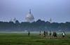 Stories of Moidan... (ritz1089) Tags: india kolkata nikond5200 50mm football greenery heritage victoria earlymornings city calcutta