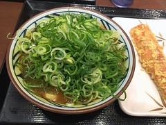 Curry Udon from Marugame Seimen @ Roppongi (Fuyuhiko) Tags: curry udon from marugame seimen roppongi tokyo 東京 六本木 カレー 丸亀製麺 うどん