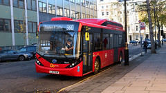 Electric buses on the 360 have now arrived! (BusesInLondon) Tags: