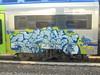 200 (en-ri) Tags: krok mean tbm blu arrow gocce grigio train torino graffiti writing pic paum verde 17 2017