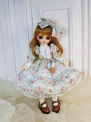 Floral Basic set (Le-miel_Sojeong) Tags: lemiel bjd bjddress volks volksdoll yosd kanon megu yosddress dress dolldress doll dollphoto dollclothing balljointeddoll handmade