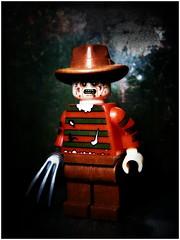 Freddy (LegoKlyph) Tags: lego brick block mini figure toy nightmare elm street horror movie classic dream scary monster creature ghost demon burned 80s