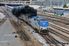 Smoke 'Em If You Got 'Em (BravoDelta1999) Tags: metra metx amtrak amtk 14thstreet coach yard shops rooseveltstreet chicago illinois pennsylvaniarailroad prr railroad burlingtonnorthernsantafe bnsf railway chicagoburlingtonandquincy cbq southwestchief 3 ge p42dc 170