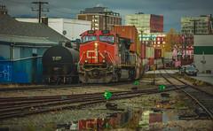 Train (Photo Alan) Tags: vancouverdowntown vancouver canada train city cityscape cityofvancouver street streetphotography landscape outdoor