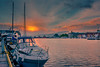 Sunset at the Bergen harbour (malc1702) Tags: sunset norway norwaytourism bergen harbour boats water vacation travel travelphotography nikond7100 nikkor18140mm europe beautiful beautifuldestinations scenery scenic goodtimes flickrunitedaward ngc