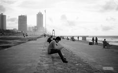 Sri Lanka 2017, Street Study 10 (1nspired.artist) Tags: srilanka street olympus35rc bw blackandwhite inspiredartist rodinal orangefilter epsonv500 35mm film fuji fujineopanacros acros iso400 pushed colombo