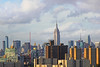 What you see from Brooklyn (tmattioni) Tags: newyorkcity empirestatebuilding buildings city colormyworld 7dwf monumentoremblematicbuilding