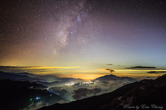 IMG_8268 (Eric-Chang Taiwan) Tags: galaxy lights night nightshot clouds color colors milkway