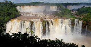 Iguazo Falls from the Brazilian side.