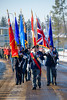 Remembrance Day, St Albert, Alberta (WherezJeff) Tags: 2017 alberta day lestweforget stalbert remembrance canada marching parade flags