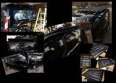Collage of Pioneer Platform Collages (jalexartis) Tags: fordtransitconnect rhinorack pioneerplatform van iphone7plus