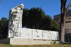 Rome, Italy - St Catherine Monument (jrozwado) Tags: europe italy italia rome roma unescoworldheritage stcatherine santacatarina monument