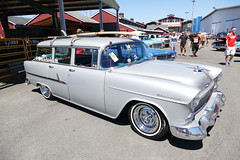 55 Chevy wagon (bballchico) Tags: 1955 chevrolet stationwagon goodguyspacificnwnationals carshow trifive